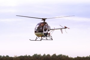 Hughes 300-296C helicopter